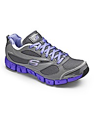Skechers Ladies Stride Trainers Wide Fit