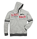Slazenger Mens Hooded Top Regular