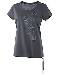 Body Star Revive Long Line Tee