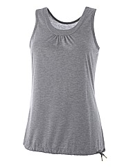 Body Star Yoga Long Length Vest