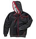JCM Sports Tech Full Zip Hooded Top Reg