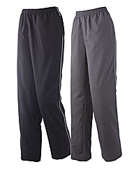 Body Star Pack of 2 Woven Pants 32in