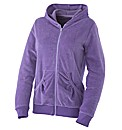 Body Star Velour Hooded Top
