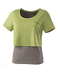 Body Star Performance Layered Top
