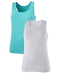 Reebok Ladies PK 2 Tanks