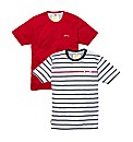 Slazenger Mens Pack of 2 T-Shirts
