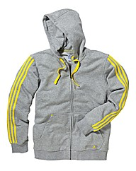 Adidas Mens Linea Hooded Top