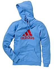 Adidas Mens Logo Hooded Top