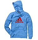 Adidas Mens Logo Hooded Top