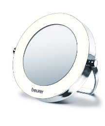 Illuminated Pocket Mirror