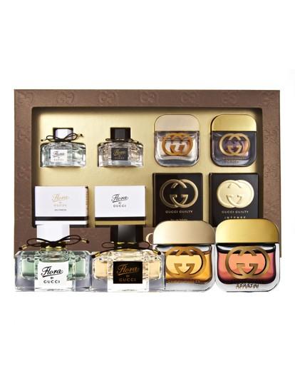 Gucci Perfume Gift Set Gucci Minis Gift Set