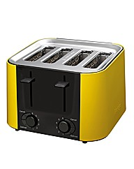 Prestige Daytona Yellow 4 Slice Toaster