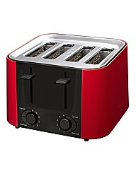 Prestige Daytona Red 4 Slice Toaster