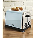 JDW Vintage 2 Slice Toaster Soft blue