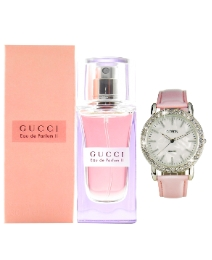Gucci Pink 30ml EDP + FREE Watch