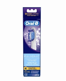 Oral B Pulsonic Brush Head 4 Pack