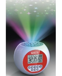 Star Projection Clock Relaxation Machine