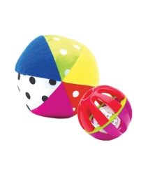 Sassy Big & Small Chime Ball