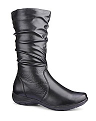 Cushion Walk Mid Calf Boots E Fit