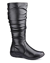 Cushion Walk High Leg Boots E Fit