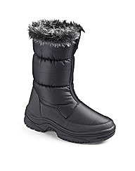 Snowdonia Ladies Zip Boots EEE Fit
