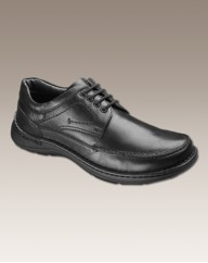 Padders Mens Lace Shoes Wide Fit
