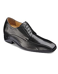 Stride Tall Mens Lace Up Shoes Wide Fit