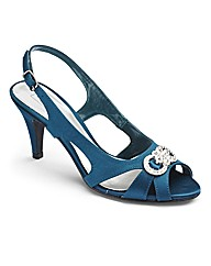 Ann Harvey Peep Toe Sandals EEE Fit