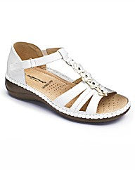 Cushion Walk Closed Back Sandals E Fit