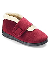 Padders Ladies Bootie Slippers E Fit