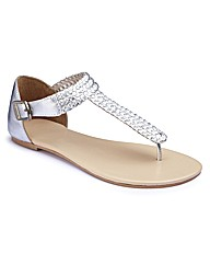 Joanna Hope Toe-Post Sandals EEE Fit