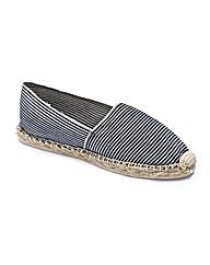 The Shoe Tailor Espadrilles EEE Fit