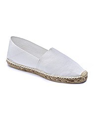The Shoe Tailor Espadrilles EEE Fit