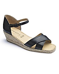 Brevitt Wedge Espadrilles EEE Fit