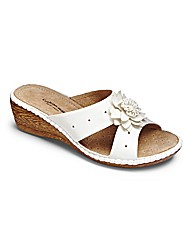Cushion Walk Mule Sandals EEE Fit