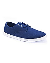 Southbay Mens Canvas Shoe Extra Wide Fit