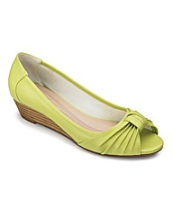 Lotus Peep Toe Shoes E Fit