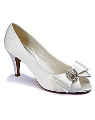 Ann Harvey Peep Toe Shoes E Fit