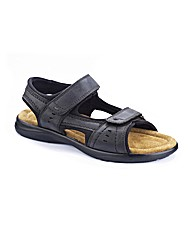 Southbay Mens Touch and Close Sandals