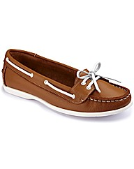 Footflex by Lotus Boat Shoes E Fit