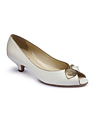 Van Dal Slip-On Peep Toe Shoes E Fit