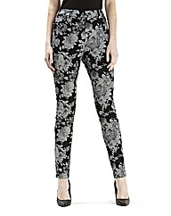 Ava By Mark Heyes Floral Print Jeans