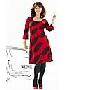 Arlene Phillips Print Dress