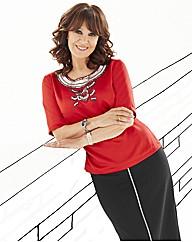 Arlene Phillips Embellished Top