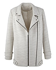 Mark Heyes Boucle Biker Jacket