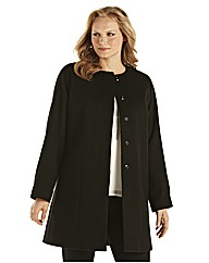 Ava By Mark Heyes Collarless Coat
