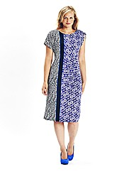 Ava By Mark Heyes Graphic Print Dress