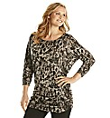 Ava By Mark Heyes Print Jersey Tunic