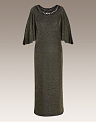 Roland Klein Dress With Jewel Detail