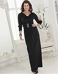 Coleen Nolan Jewel Detail Maxi Dress
